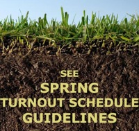 Spring Turnout Guidelines